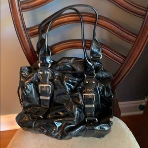 Black leather Michael Kors bag